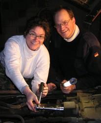 Andrea und Uwe Hartenfeller