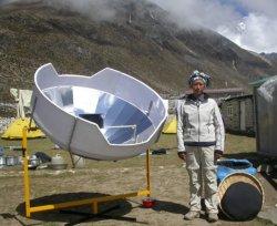 Solarkocher in Nepal