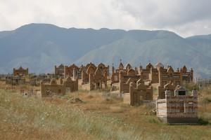 Friedhof in Kirgistan