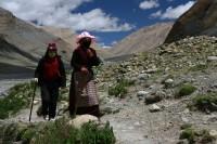 Pilger am Mt. Kailash